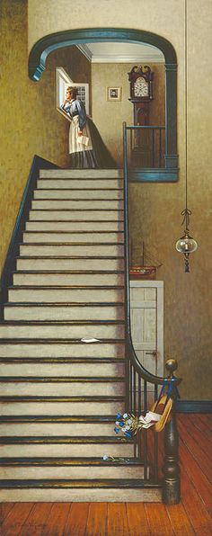 Pinning because it seems to tell a story: Another Year at Sea  Charles Wysocki