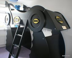 Batman Bed don't really like the bottom but this is pretty awesome