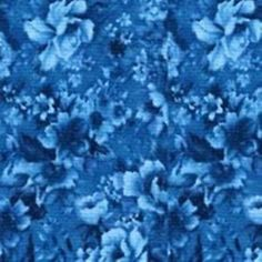 Teal Packed Flowers by Robert Kaufman 100 Cotton Fabric 44 45 in Wide | eBay
