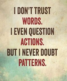 But I Never Doubt - Beautiful Life Quote