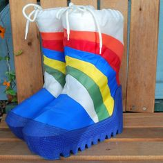 Rainbow Brite would have felt at home wearing these moon boots. I'd forgotten about these. Moon Boots, Childhood Toys, Childhood Memories, 80s Kids, My Memory, Forever Young, Tween, Old School, 1980s