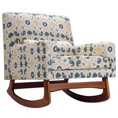 Nursery Works Limited Edition Sleepytime Rocker Bazaar Spring @LaylaGrayce
