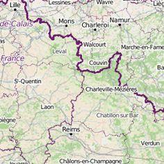 Carte des véloroutes et voies vertes de France - uMap Rando Velo, Reims, Destination Voyage, Budapest, Trekking, Touring, Cycling, Trail, Journey