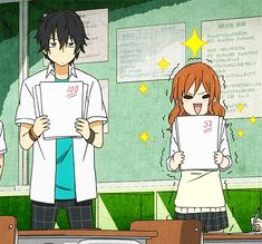 Tonari no kaibutsu-kun How I feel when I'm with my friends and we're talking about grades in classes...