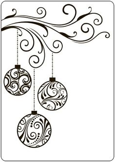 Crafts-Too A2 Embossing Folder Swirl Baubles