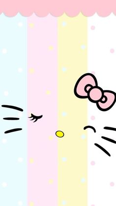Cute pastel Hello Kitty