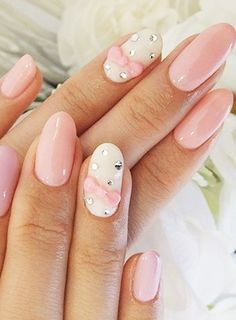Pink Nail Art Designs for Beginners34