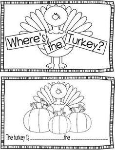 Turkey-Themed Literacy FREEBIES!