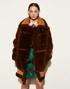 INSIDE OUT SHEARLING COAT - Alternate View 1