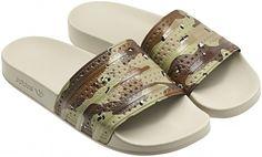 Adidas camo sandals