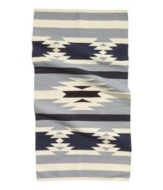 Jacquard-weave Rug $29.95 Rug in jacquard-weave cotton. Size 31 x 55 in. 100% cotton. Machine wash cold Imported