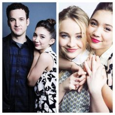 #GirlMeetsWorld - Ben Savage, Rowan Blanchard and Sabrina Carpenter