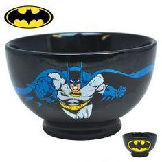 Un bol Batman, pour boire un bon café avant de sauver la veuve et l'orphelin !