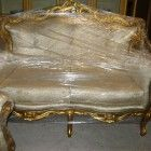 New Arrivals! French Sofa Love Seat & Chair SOLD