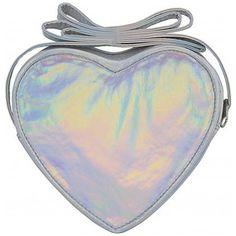 BJX Kids Mini Iridescent Heart Crossbody