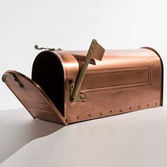 SMITH & HAWKEN Solid Copper Residential Mailbox