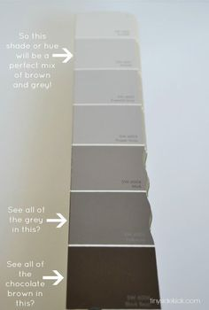how to choose the perfect neutral paint, painting, Find a dark color that has grey and brown in it without a lot of blue or orange undertones and use the lighter shade of that color as your neutral