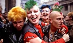 The way it was: punks, 1983.