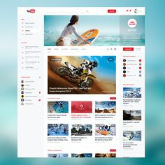 YouTube Redesign V2 by Adrien THOMAS