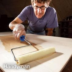 How to Get a Smooth Polyurethane Finish - Article: The Family Handyman