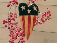 Delicate American heart