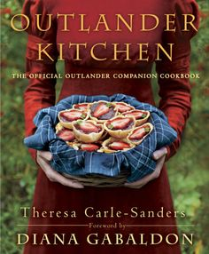 Outlander Kitchen Cookbook being published in 2016.  We were delighted to host Theresa and her husband as guests at Craigwell Cottage in 2013.