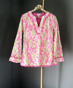 Lilly Pulitzer Tunic  / Beach Cover Up / by RestorologyVintage