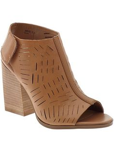 Blade Leather Mules