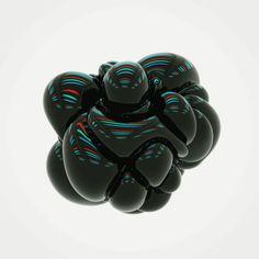 black blob moving around, animated gif