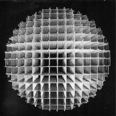 Francois Morellet, Spheres-trames, 1962