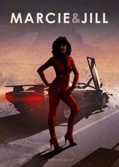 marcie jill cannonball run the sport racing car countach lamborghini cars movie film speed wheels