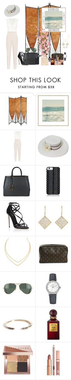 """""""relaxing in the Bahamas"""" by tara-g148 ❤ liked on Polyvore featuring Reiss, Chanel, Fendi, Savannah Hayes, Dolce&Gabbana, Irene Neuwirth, Lana, Louis Vuitton, Ray-Ban and Blancpain"""