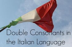 "Double Consonants in the Italian Language (or how to avoid mixing up the words for ""anus"" and ""year"")"