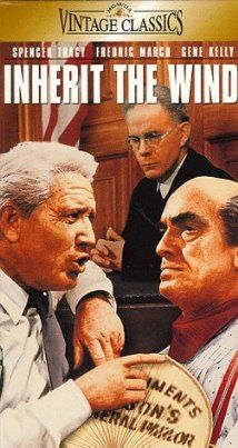 Inherit the Wind (1960), Based on a real-life case in 1925, two great lawyers argue the case for and against a science teacher accused of the crime of teaching evolution.