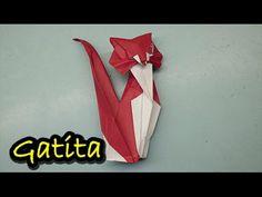 # 12 Origami - gato de papel paso a paso ( origami - cat paper) - YouTube