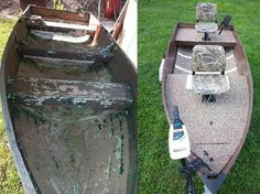 Deep V modification Bass Fishing Boats, Aluminum Fishing Boats, Aluminum Boat, Bass Boat, Kayak Fishing, Cheap Boats, John Boats, Boat Restoration, Duck Boat