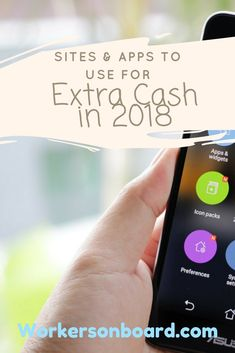 Let's start off 2018 with some cool ways to earn some pocket change, side income or extra cash online.  If you are on social media and/or have a smartphone that you use, you can make more money with these sites especially the smart phone apps.  Having access to a smartphone will also enable you to...