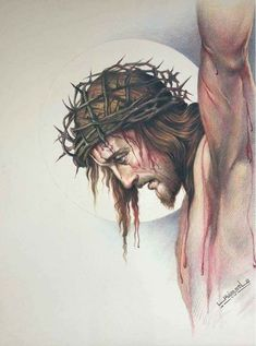 Thank you, Jesus! Jesus Tattoo, Christ Tattoo, Image Jesus, Jesus Christ Images, Jesus Art, Religious Pictures, Jesus Pictures, Catholic Art, Religious Art