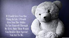 special Happy Teddy Bear Day, Teddy Day, Big Teddy Bear, Teddy Bear Quotes, Teddy Bear Images, Long Love Poems, Bear Photos, Wonder Quotes, Love Illustration