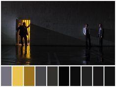 Movie Color Palette, Colour Palettes, Cinema Colours, Color In Film, Mystery Film, Sam Mendes, Color Script, Still Frame, Film Inspiration