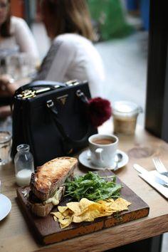 Lunch in Soho, London - www.andreaclare.ca
