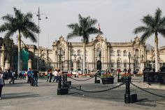 Plaza Mayor | Central Lima, Peru