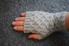 fingerløse handsker