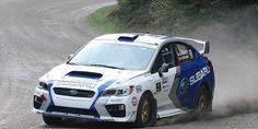 New 2015 Subaru WRX STI scores podium finish in first Rally race
