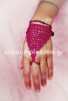 crochet lilac hand b