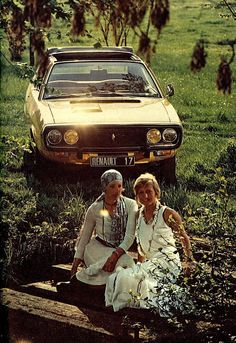 Renault 17 and pretty girls? Oh how the French have all the fun!