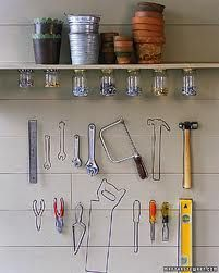 For downstairs tool room or craft/office area. This is so you can tell what tools your peeps are stealing with just one look!