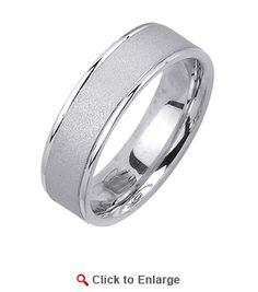 Silver Wide Brush Polished Mens #Ring * $49.99