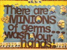 find this pin and more on school nurse ideas my bulletin board - Kitchen Bulletin Board Ideas