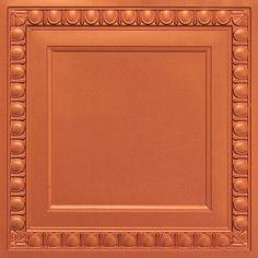 "Faux Tin Ceiling Tile - 24""""x24"""" - #260"